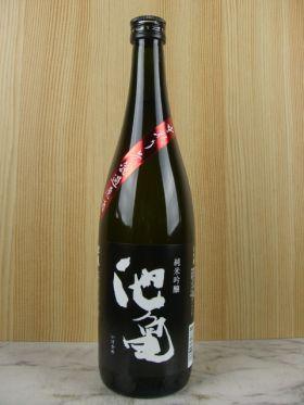池亀 純米吟醸55 中取り無濾過原酒 720ml