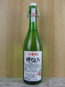 杜の蔵/槽汲み ひと夏熟成 純米無濾過生原酒 720ml(数量限定商品)