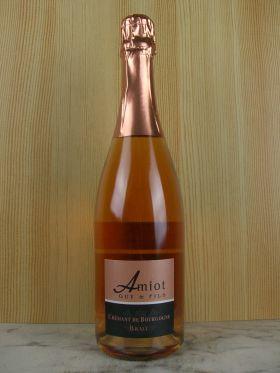 クレマン・ド・ブルゴーニュ・ブリュット・ロゼ N.V/アミオ・ギイ・エ・フィス [ Cremant de Bourgogne Extra Brut Rose / AMIOT Guy et Fils ]
