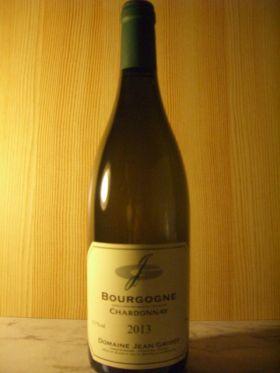 ブルゴーニュ・シャルドネ 2013/ ドメーヌ・ジャン・グリヴォ [ Bourgogne Chardonnay 2013 / Jean GRIVOT ]