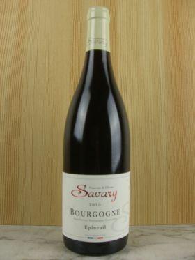 ブルゴーニュ・エピヌイユ・ルージュ/フランシーヌ エ オリヴィエ サヴァリー [ Bourgogne Epineuil Rouge / Francine & Olivier Savary ]