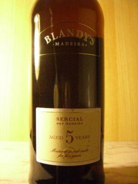 ヴァラエタル マディラワイン セルシアル 5年熟成/ブランディーズ [ Sercial 5 Years Old / Blandy's ]